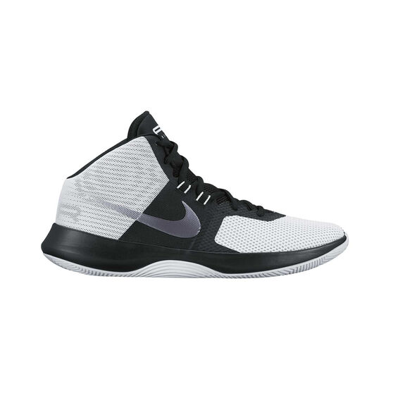 Nike Air Precision Mens Basketball Shoes White   Black US 8.5 ... 4ce8f8275