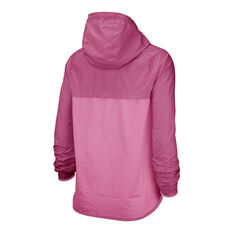 Nike Womens Windrunner Jacket Pink XS, Pink, rebel_hi-res