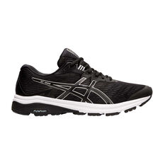 Asics GT 1000 8 Mens Running Shoes Black / Silver US 7, Black / Silver, rebel_hi-res