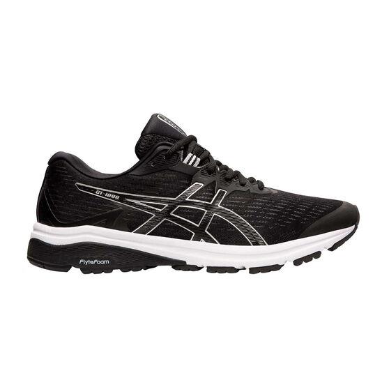 Asics GT 1000 8 Mens Running Shoes, Black / Silver, rebel_hi-res