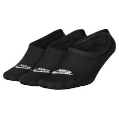 Nike Sportswear Footie Socks Black / White S, Black / White, rebel_hi-res