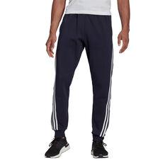 adidas Mens Future Icons 3-Stripes Trackpants Navy S, Navy, rebel_hi-res