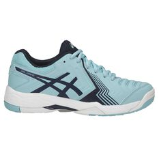 Asics Gel Game 6 Womens Netball Shoes Blue / White US 6, Blue / White, rebel_hi-res