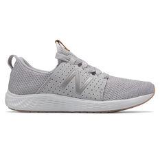New Balance Fresh Foam Sport Womens Running Shoes Grey/White US 6, Grey/White, rebel_hi-res
