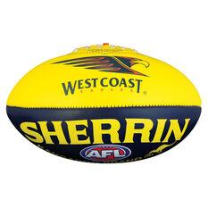 Sherrin AFL West Coast Eagles Softie Ball, , rebel_hi-res