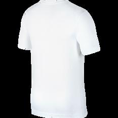 Nike Mens Sportswear JDI Tee White / Red XS, White / Red, rebel_hi-res