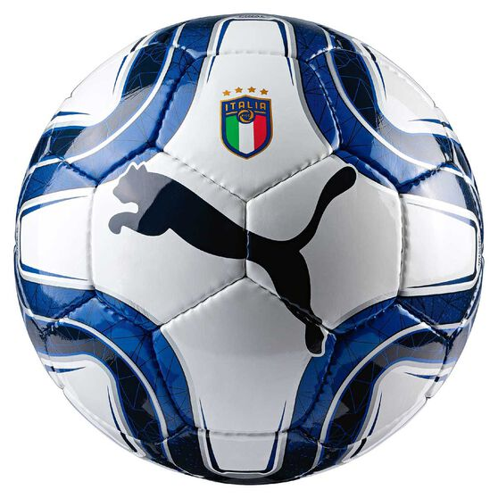 Puma Italia Final 5 HS Trainer Soccer Ball White / Blue 5, , rebel_hi-res