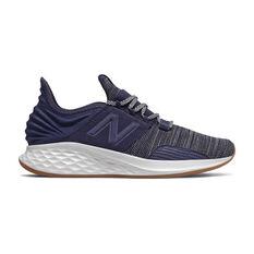 New Balance Fresh Foam Roav Mens Running Shoes Navy US 7, Navy, rebel_hi-res