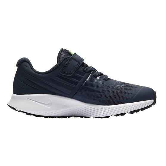 e9c7561ef322a0 Nike Star Runner Junior Boys Running Shoes Blue   White US 12 ...
