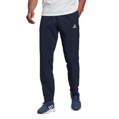 adidas Mens Tapered Stanford Pants Navy XS, Navy, rebel_hi-res
