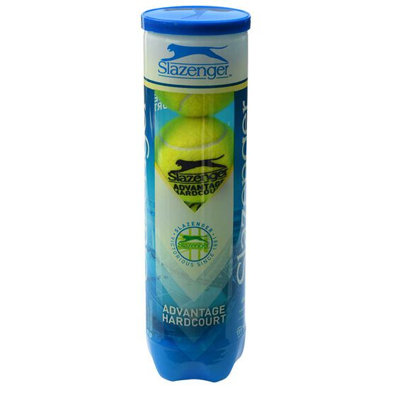 Slazenger Advantage Hardcourt Tennis Balls, , rebel_hi-res