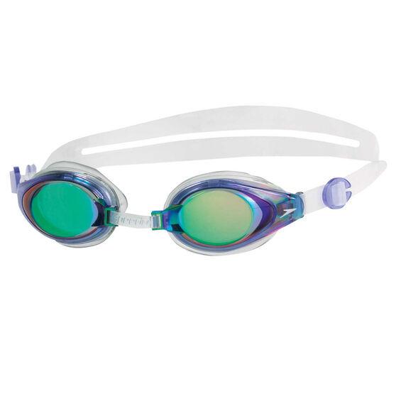 Speedo Mariner Blue Mirror Swim Goggles, , rebel_hi-res
