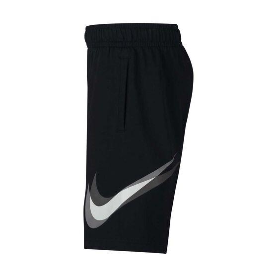Nike Boys Core Training Shorts Black / Grey XL, Black / Grey, rebel_hi-res