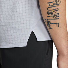 Nike Mens Dri-FIT Trail Rise 365 SS Tee Blue M, Blue, rebel_hi-res