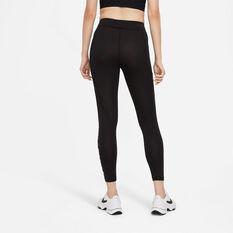Nike Air Womens Tights Black L, Black, rebel_hi-res