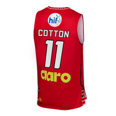 Perth Wildcats 2019/20 Mens Looney Tunes Bryce Cotton Jersey Red S, Red, rebel_hi-res