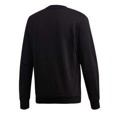 adidas Mens Must Haves Badge of Sport Sweatshirt, Black, rebel_hi-res