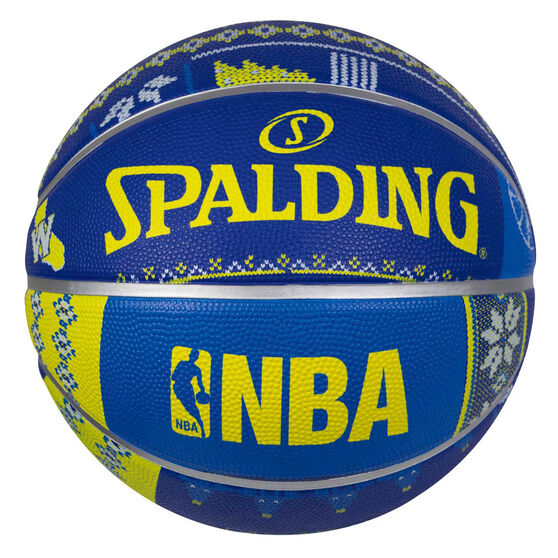 Spalding NBA Warriors Ugly Sweater Basketball 7, , rebel_hi-res
