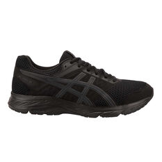 Asics GEL Contend 5 4E Mens Running Shoes Black / Grey US 7, Black / Grey, rebel_hi-res