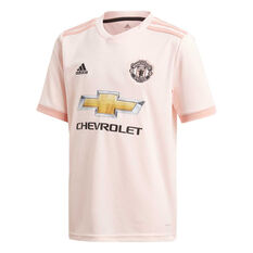 c754b0ff712 Manchester United 2018   19 Kids Away Jersey Pink 10