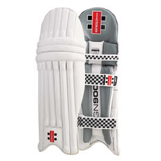 Gray Nicolls GN 900 Junior Cricket Batting Pads Silver Youth Right Hand, Silver, rebel_hi-res