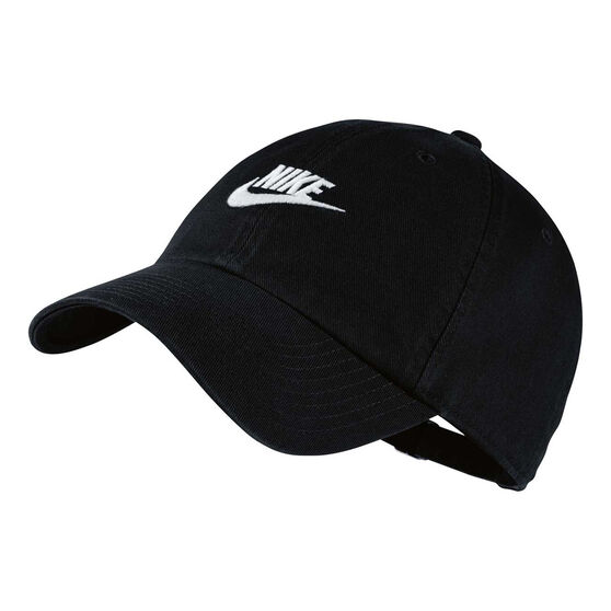 Nike Mens Futura Washed H86 Cap Black OSFA, , rebel_hi-res