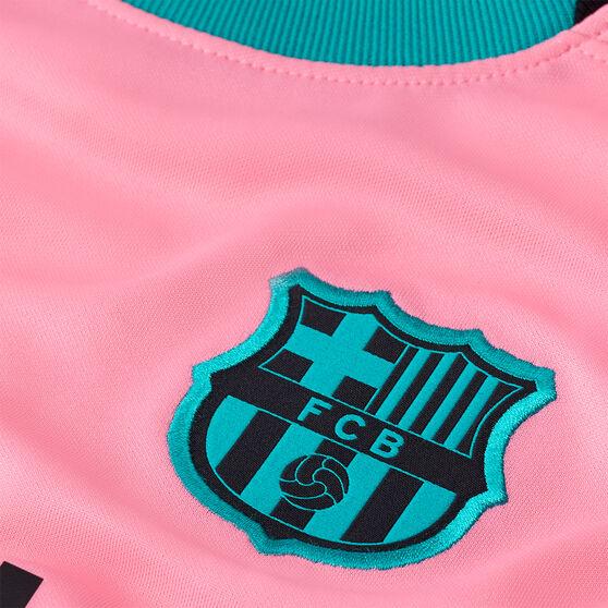 FC Barcelona 2020/21 Kids 3rd Jersey, Pink, rebel_hi-res