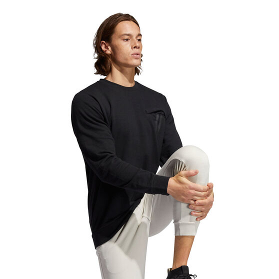 adidas Mens PG Lite Sweatshirt, Black, rebel_hi-res