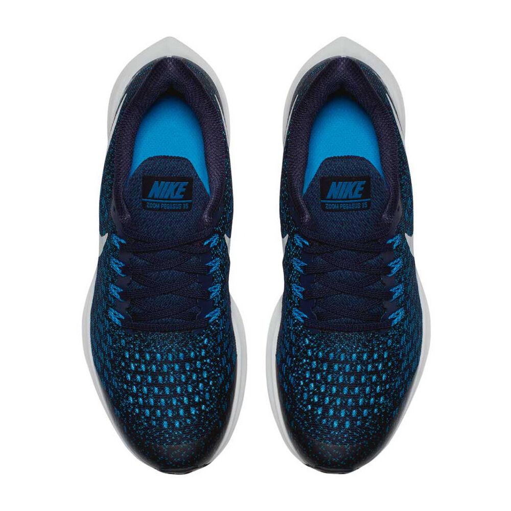 f7dd97a8 Nike Air Zoom Pegasus 35 Boys Running Shoes Blue US 6 | Rebel Sport