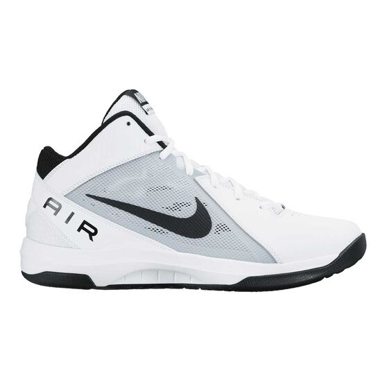huge selection of 33b52 cfc7d Nike Air Overplay IX Mens Basketball Shoes White   Black US 10.5, White    Black