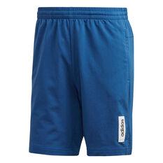 adidas Mens Brilliant Basics Shorts Blue XS, Blue, rebel_hi-res