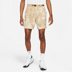 NikeCourt Mens Dri-FIT Tennis Shorts Beige XS, Beige, rebel_hi-res