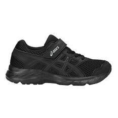 Asics Gel Contend 5 Kids Training Shoes Black US 1, Black, rebel_hi-res