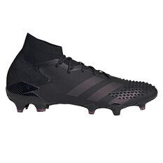 adidas Predator Mutator 20.1 Football Boots Black/Pink US Mens 6 / Womens 7, Black/Pink, rebel_hi-res