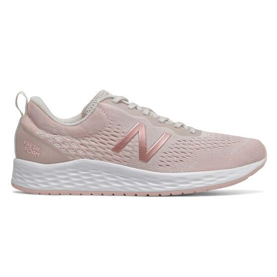 New Balance Fresh Foam Arishi D Womens Running Shoes, Grey, rebel_hi-res