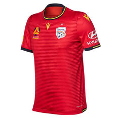 Adelaide United 2019/20 Mens Home Jersey Red S, Red, rebel_hi-res