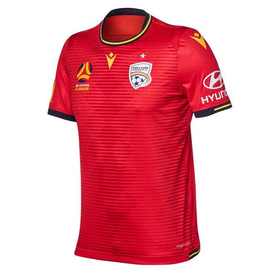 Adelaide United 2019/20 Mens Home Jersey, Red, rebel_hi-res