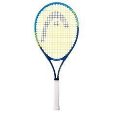 Head Conquest Tennis Racquet Blue / Yellow 4 3 / 8in, Blue / Yellow, rebel_hi-res