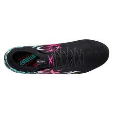 XBlades Intercept Rush Football Boots, Black/Pink, rebel_hi-res