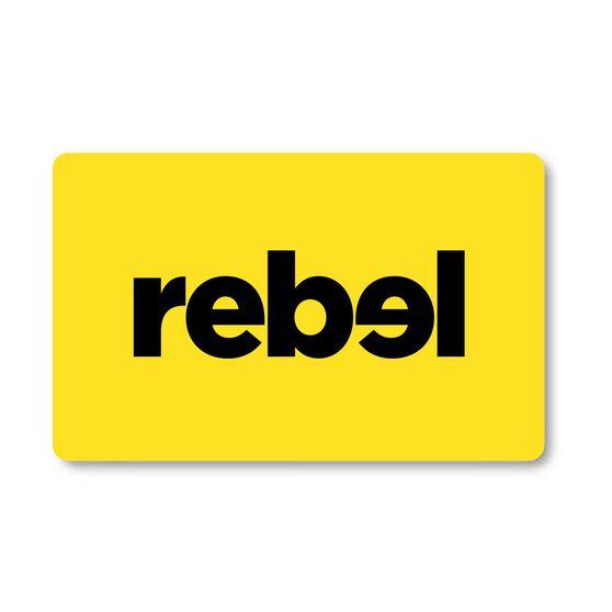 REBEL Giftcard, , rebel_hi-res