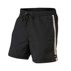 fd7687042097 Quiksilver Mens Vibes Volley 17in Boardshorts Black S, Black, rebel hi-res