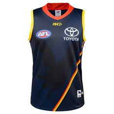 Adelaide Crows 2020 Mens Training Guernsey Navy S, Navy, rebel_hi-res