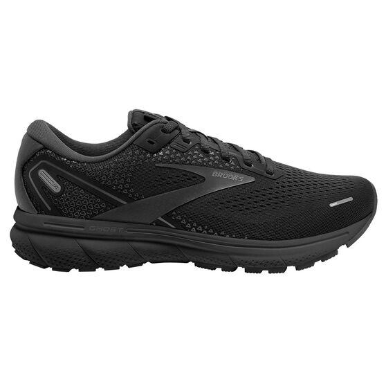 Brooks Ghost 14 Mens Running Shoes, Black, rebel_hi-res
