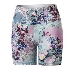 Ell & Voo Womens Rachel 5in Shorts, Print, rebel_hi-res