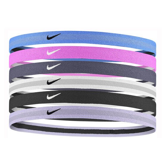 Nike Swoosh Sport Hairband 6-Pack, , rebel_hi-res