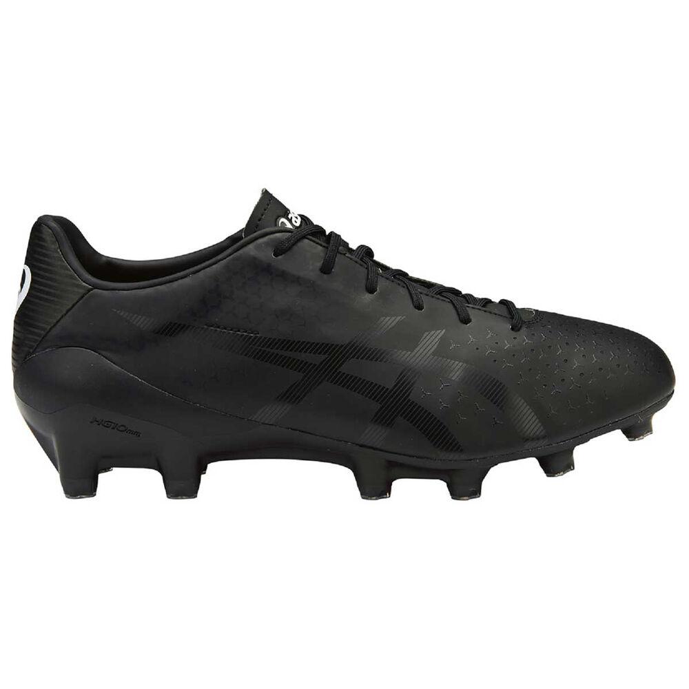 cd2eb1ae0ffc Asics Menace Mens Football Boots Black US 11.5 Adult