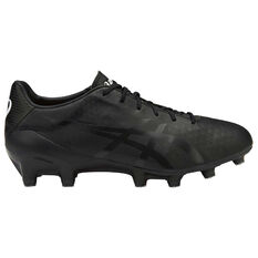 Asics Menace Mens Football Boots Black US 7 Adult, Black, rebel_hi-res
