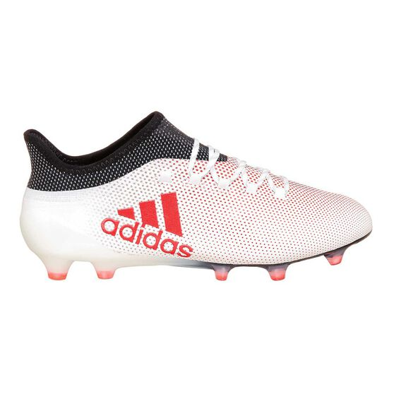 11656426f adidas X 17.1 FG Mens Football Boots Grey / Red US 7 Adult | Rebel Sport