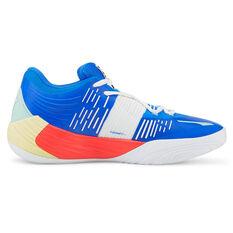 Puma Fusion Nitro Basketball Shoes Blue/Red US 7, , rebel_hi-res