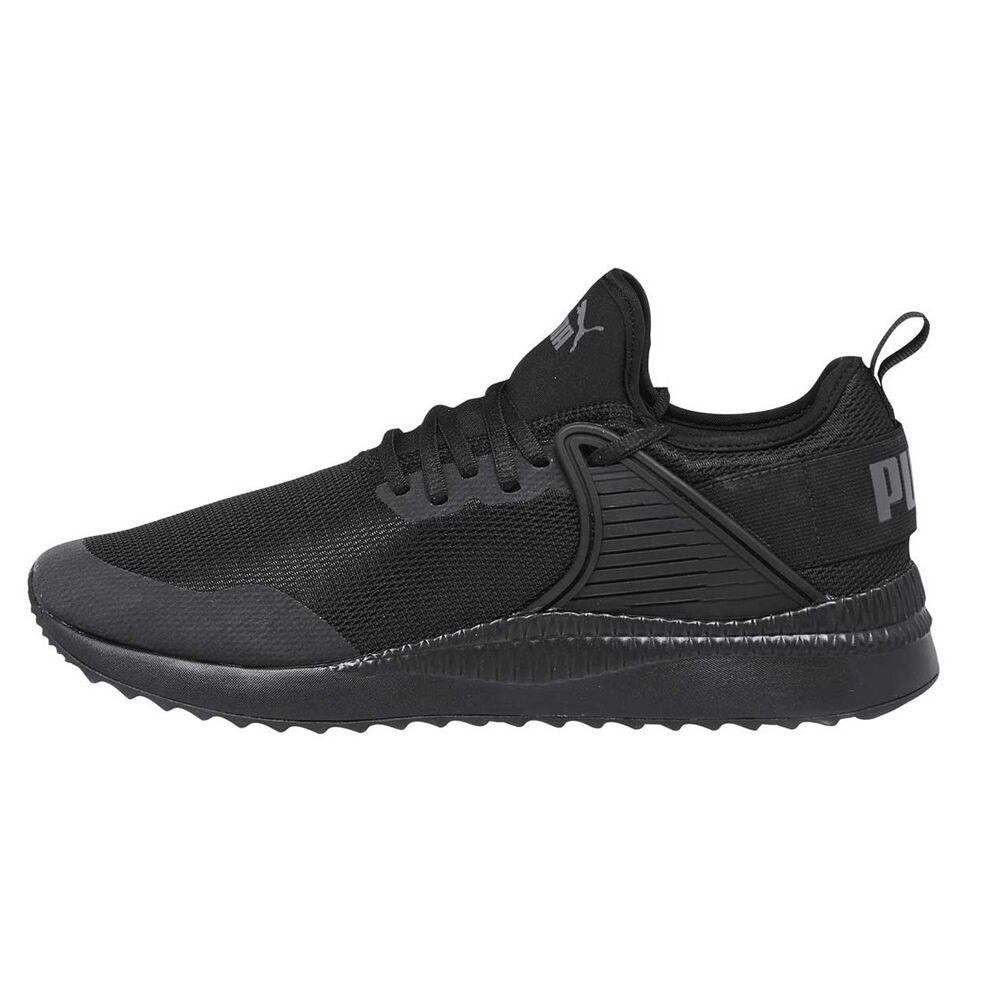 Puma Pacer Next Cage Mens Casual Shoes Black   Black US 8  871ebd1fa